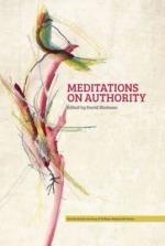 Meditations on Authority