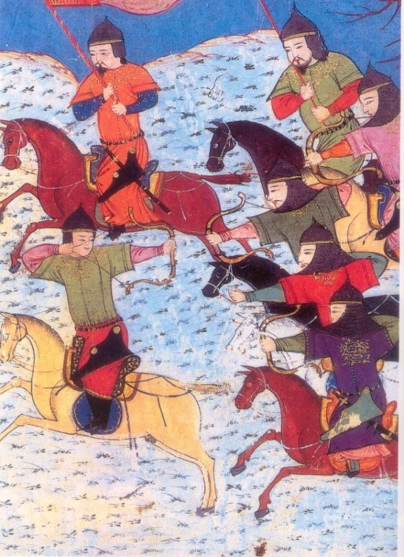 Mongol Riders